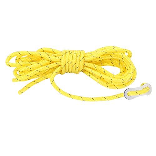 Accesorio de fijación de Cuerda de Viento Reflectante de Nailon para Exteriores de 4 Piezas con Hebilla para toldo de Tienda