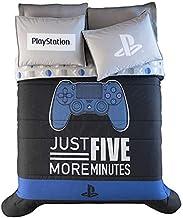 JORGE'S HOME FASHION INC Playstation Original - Juego de edredón reversible para adolescentes y niños, 2 unidades de tamaño individual