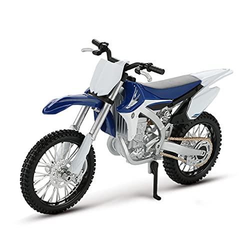 MHDTN Grande Giocattoli per Macchinina Motocross 1:12 per Yamaha 450F Mountain Bike Modello Simulazione Lega Moto Collezione per Adulti Decorazione Regalo Auto Giocattolo I Modelli più Caldi 2021