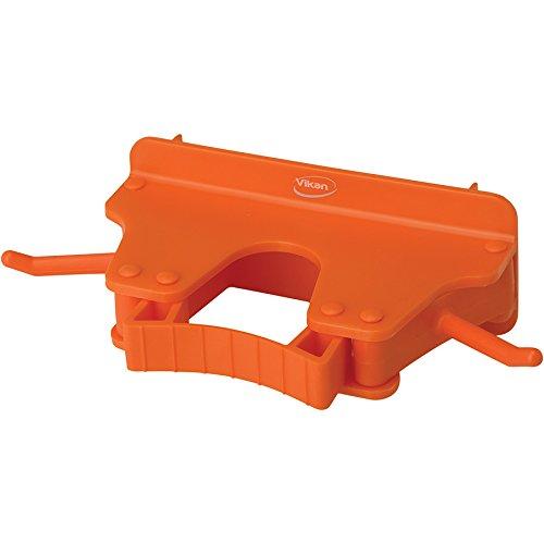 キョーワクリーン 本体 オレンジ 横幅:16cm Vikan(ヴァイカン)ブラケット 3個掛け 10177