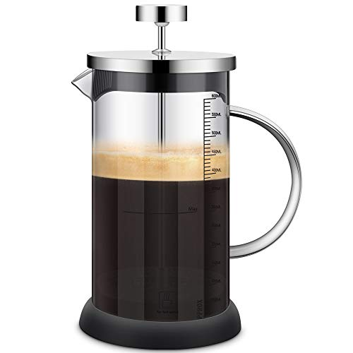 Cafetera Francesa - French Press, 600ML...