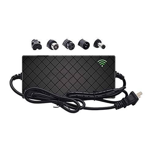 RLRL Cargador de batería de Litio de 29,4 V 42 V 54,6 V 2A E-Bike Scooter Adaptador de Cargador de monopatín Scooters eléctricos Cargador de batería (Color : D, Size : 54.6V 2A)