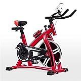 Bicicletas Estáticas Spinning Cubierta Ciclismo Indoor vertical bicicleta estática ultra silencioso bicicleta estática de carga que soportan 200 kg adecuados multicolor opcional Trainer interior para