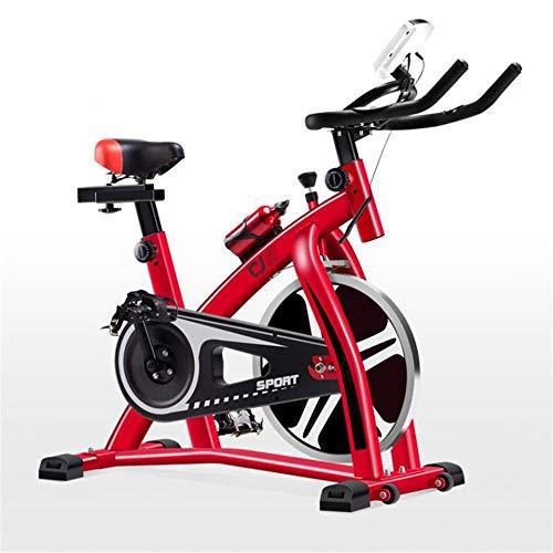 Bicicleta Spinning Indoor Ciclismo Indoor vertical bicicleta estática ultra silencioso bicicleta estática de carga que soportan 200 kg apropiados for uso en gimnasio en casa ejercicio aeróbico Cubiert
