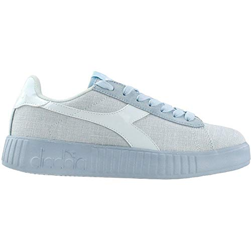 Diadora Womens Game Step Cv Lace Up Sneakers Shoes Casual - Blue - Size 5.5 B