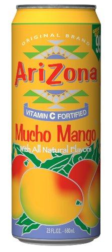 Arizona Mucho Mango, 23 Fl Oz (Pack of 24)