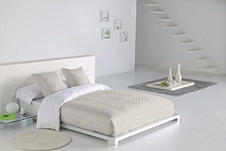SABANALIA - Funda Nórdica Niza (Disponible en Varios tamaños) - Cama 200, Blanco