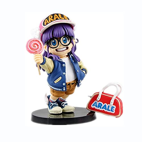 ZDVHM Anime Figuras Figurine Dr. Slump Modelo de Caracteres Arale Estatua de PVC Adornos de Escritorio Regalos de cumpleaños Juguetes Juguetes Doll Anime Souvenirs Collectibles Artesanía