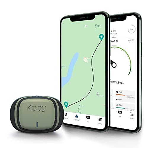 Kippy EVO V-Pet Tracker, Localizador GPS y Monitor de Actividad para Perros y Gatos, Rastreador Inalámbrico de Vodafone