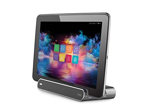 ZAGG ZGUCCH-WHE ZAGG Power-Work Station USB-C Desktop Dock für Samsung Galaxy Tab Pro S Silber/anthrazit