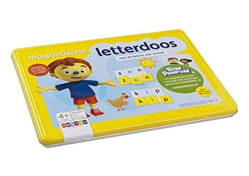 Magnetische letterdoos: met de letters van school