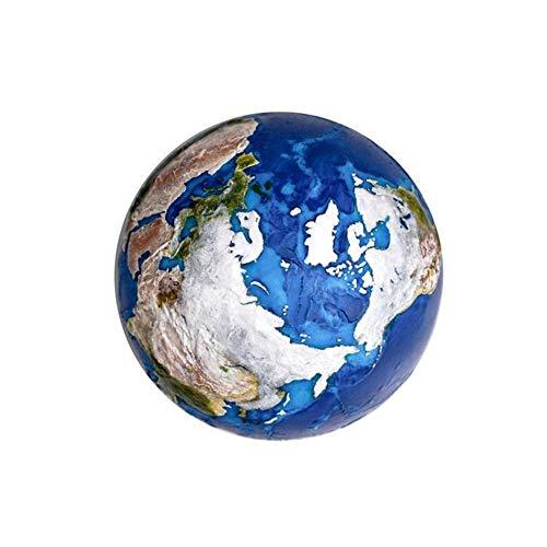 Cheniess Globus AstroReality Simulation 3D Sonnensystem Planet Erde Modell Hand-Made kreative Geschenk-Schwarz Technologie 120mm Halten Sie Ihre ReisenAbenteuer Und Erinnerungen