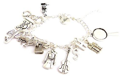 Lucky Joyce Geige Lupe Armband - Sherlock
