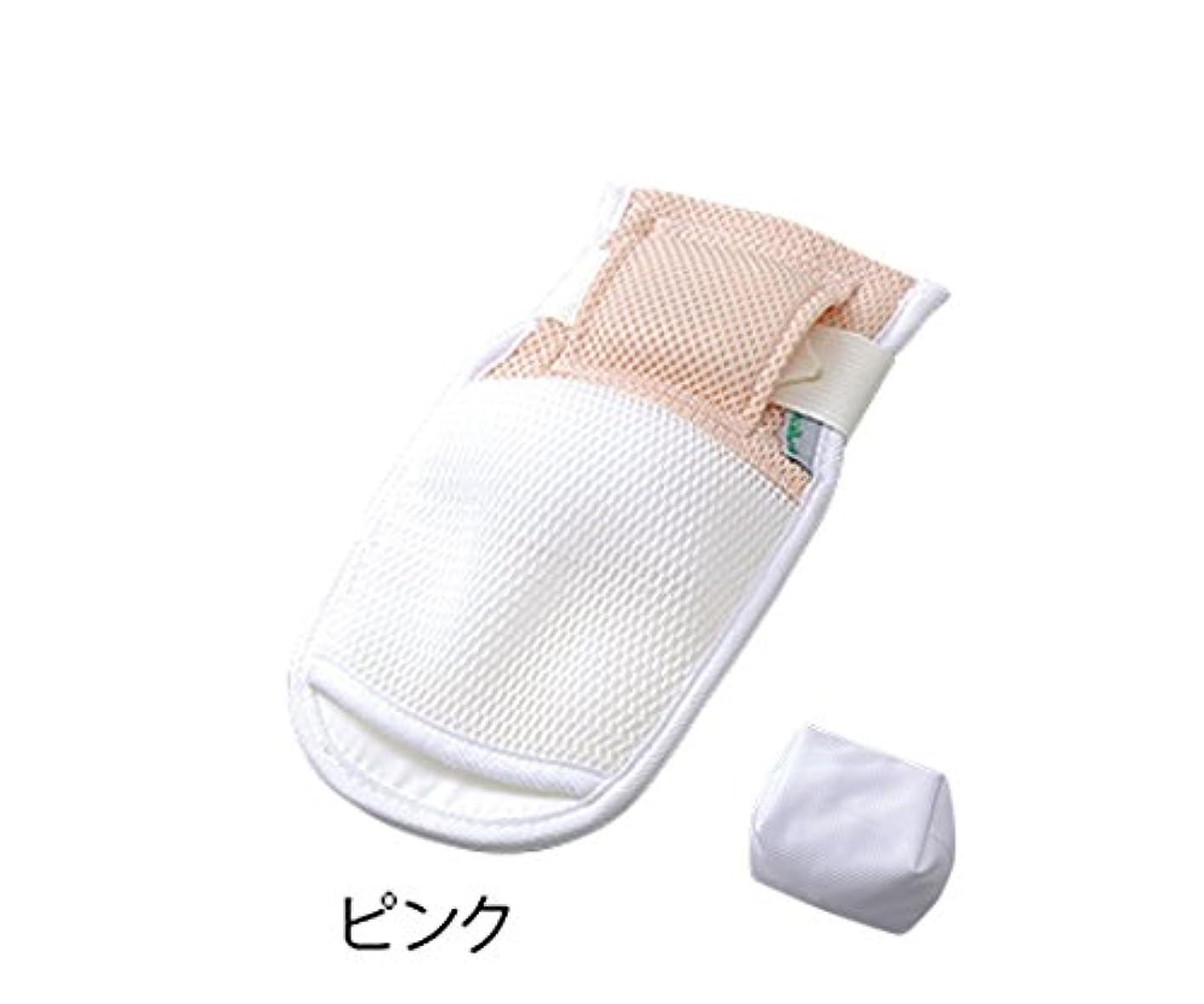 目に見える個人的な事件、出来事ナビス(アズワン)8-2153-05抜管防止手袋TMT-SPPピンク295×145mm