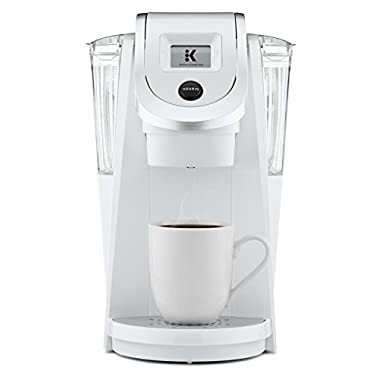 Keurig K250 Single Serve, K-Cup Pod Coffee Maker with Strength Control, White