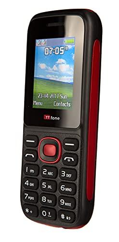 TTsims TT120 Dual Sim mobiele telefoon - rood