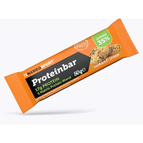 Named Sport Protein Bar Barretta Gusto Cookies and Cream 50 g