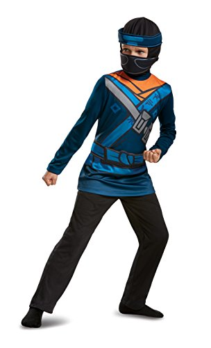 Lego Ninjago Movie 51807K Zweiteiler, Jay M (7-8 J.), Unisex-Kinder, Blau, 127 x 136 cm