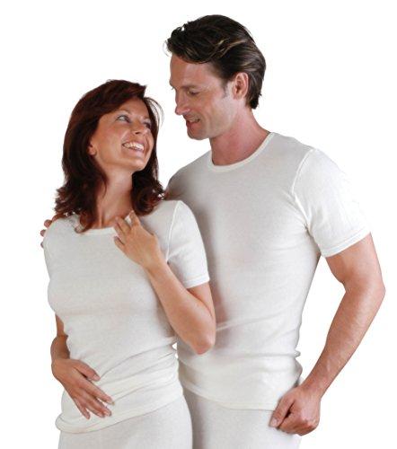 Moser care and support wear Unterhemd 30% Angoraanteil, Thermounterwäsche (44/46, 52/54 - L, Natur)