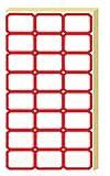 Etichette Autoadesive,1200PCS Etichette di Multifunzione,Etichette adesive per buste con nome, Etichette adesive rimovibili per indirizzi per bottiglia Jar Box School Office Kitchen