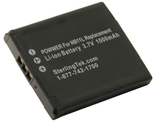 STK NB-11L Battery Pack for Canon Powershot SX410 is, ELPH 160, ELPH 180, ELPH 190 is, ELPH 170 is, ELPH 190 is, ELPH 135 is, ELPH 350 HS, ELPH 360 HS, ELPH 150 is, Powershot SX420 is