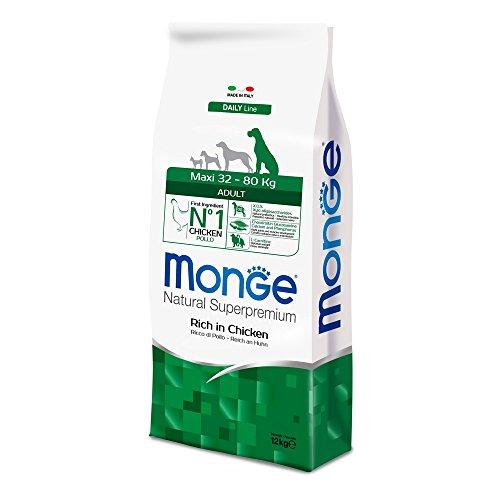 Monge Natural SUPERPREMIUM Cane Maxi Pollo Alimenti Cane Secco Premium