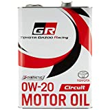 TOYOTA GAZOO Racing トヨタ純正 GR MOTOR OIL Circuit 0W-20 4L エンジンオイル