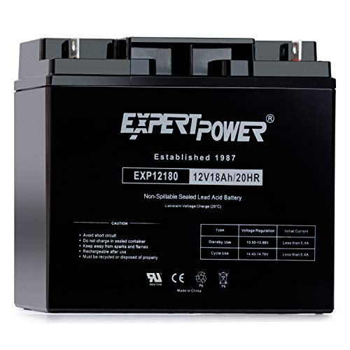 ExpertPower EXP12180 12V 18Ah Lead Acid Battery