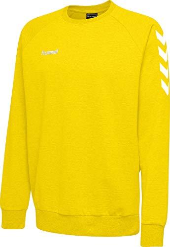 hummel Herren HMLGO Cotton Sweatshirt, Sports Gelb, M