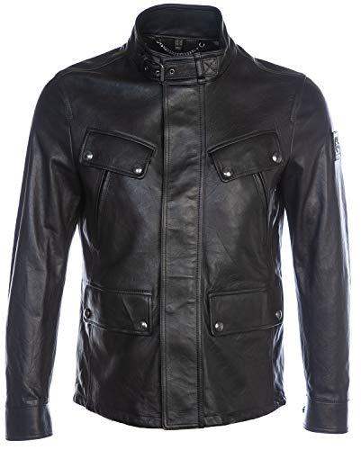 Belstaff Denesmere Leather Jacket in Black