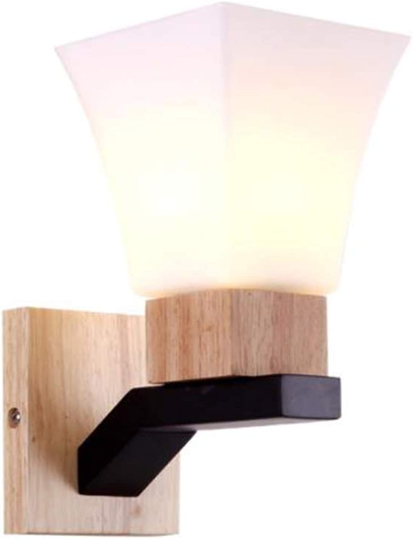 Wandlampe FANGQIAO SHOP Hintergrund-Wandlampen-Schlafzimmer-Moderne Minimalistische Nachttischlampe-Gang-Wohnzimmer-Lampe