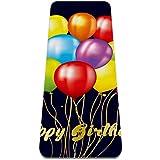 Esterilla Yoga Mat Antideslizante Profesional - feliz cumpleaños - Colchoneta Gruesa para Deportes - Gimnasia Pilates Fitness - Ecológica