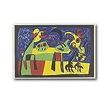 EMIP Joan Miro - Cuadro decorativo para pared (20 x 30 cm)
