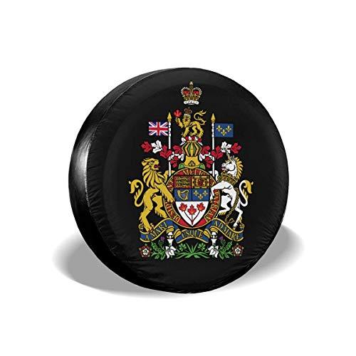 Cubierta de llanta de refacción Emblema Nacional de Canadá Protectores de Llantas Cubiertas de Llantas 16 '' Pulgadas