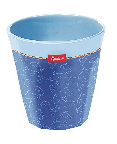 sigikid, Jungen, Melamin-Trinkbecher, Sammy Samoa, Blau, 24773