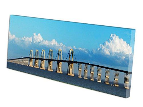 Cuadros Mini panorámicos Puente de Maracaibo Venezuela en Lienzo Canvas Impreso Decorativos...