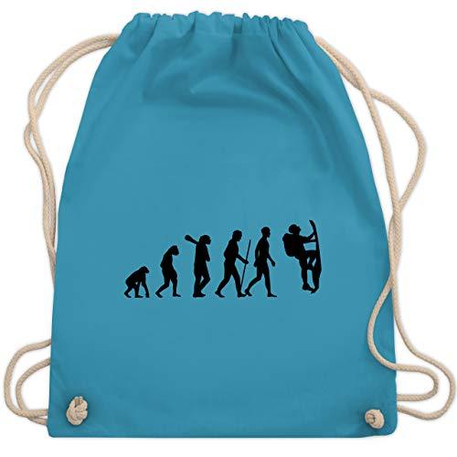Evolution - Klettern Evolution - Unisize - Hellblau - bag boulder - WM110 - Turnbeutel und Stoffbeutel aus Baumwolle