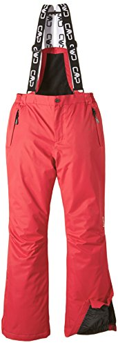 CMP , Pantaloni da sci, Rosso (Red Fluo), 140 cm, Rosso Fluo, 140