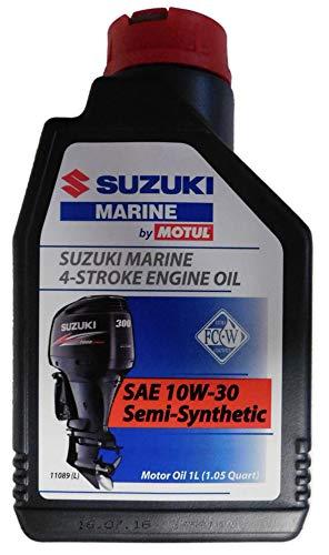 Suzuki Marine Öl 4-Takt 10W-30 Semi-Synthetic 1x1L für alle Suzuki Aussenbordmotoren DF Modelle