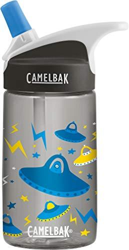 CamelBak eddy Kids bidón de agua 400 ml Uso diario Negro, Azul, Gris Copoliéster, Tritan - Bidones de agua (400 ml, Uso diario, Negro, Azul, Gris, Copoliéster, Tritan, Niño, Niño/niña)