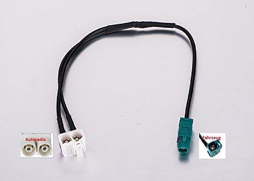 Adaptateur répartiteur Diversity antenne GPS fakra pour Audi VW