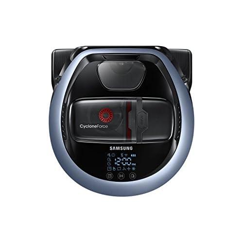 Samsung POWERbot VR7000 Aspirapolvere Robot, senza Sacco, 20 W, Telecomando, Blu