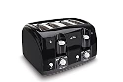 best 4 slice long slot toaster