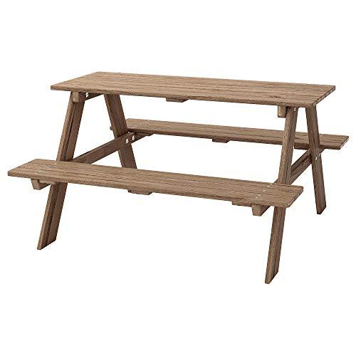 Ikea 702.283.25 Kindersitzgruppe Resö wetterfester Kindertisch, braun
