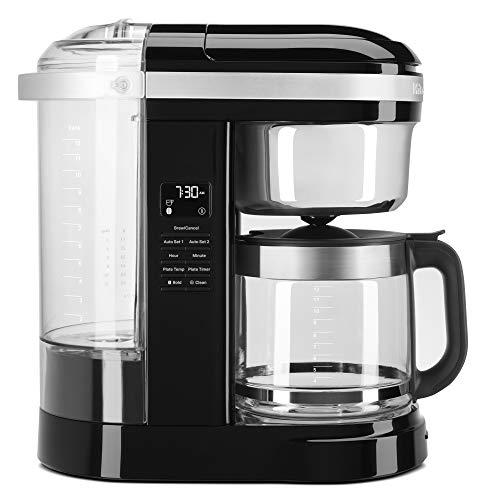KitchenAid KCM1209OB Drip Coffee Maker, 12 Cup, Onyx Black
