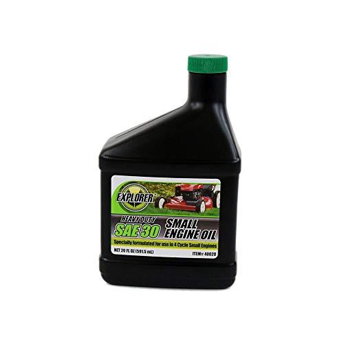 Craftsman 40020 Lawn & Garden Equipment Engine Oil, SAE 30, 20-oz Genuine Original Equipment Manufacturer (OEM) Part