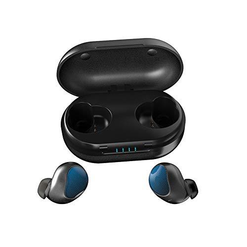 SailorMJY Draadloze Bluetooth 5.0-oordopjes met laaddoos, echt draadloos, waterdichte Touch TWS-hoofdtelefoon, bluetooth-koptelefoon-stereokanaal A