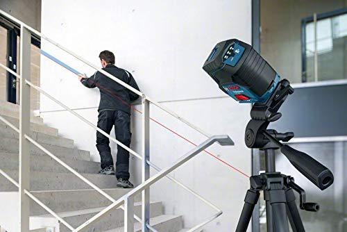 Bosch Professional Kreuzlinienlaser GCL 2-50 (5x AA Batterien, Arbeitsbereich: 50m, im Handwerkerkoffer) - 3