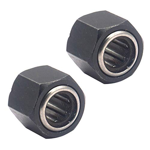 2Pack Vgoohobby 12mm Hex Nut One Way Bearing for Vertex VX 18 16 SH21 12mm Engine RC Nitro Car Buggy Monster Truck RC Pull Start Parts