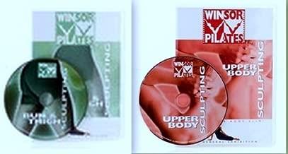 Winsor Pilates 2 DVD Set - Bun & Thigh Sculpting / Upper Body Sculpting